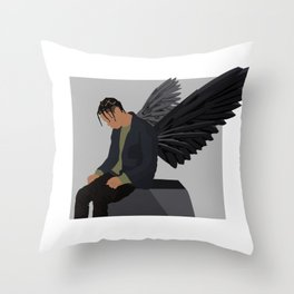 Travis in the Trap Throw Pillow