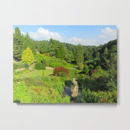 Alton Towers Gardens, uk Metal Print