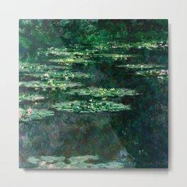 Waterlilies by Claude Monet, 1904 Metal Print