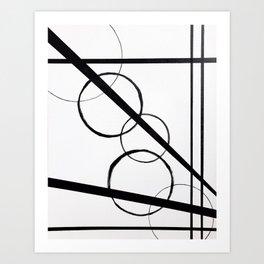 Ional 2 BW Art Print