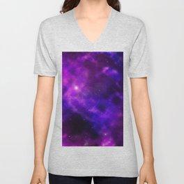 Galaxy Nebula Space Sky Unisex V-Neck