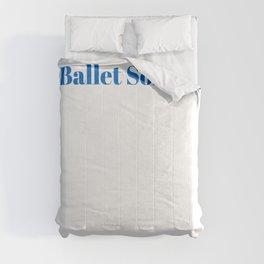 Ballet Soloist Ninja in Action Comforters