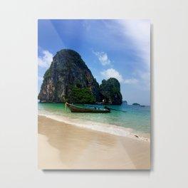 Railay Beach, Thailand Metal Print