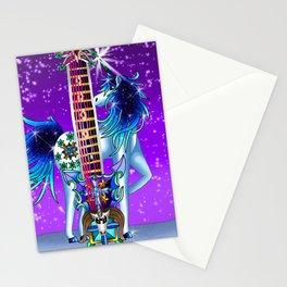 Fusion Keyblade Guitar #190 - Unicornus' Keyblade & Diamond Dust Stationery Cards