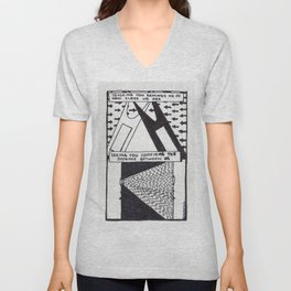 The Distance Between Us / 1995: The Booth Philosopher Series Unisex V-Neck