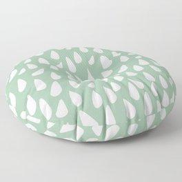 Drops-hand drawn Floor Pillow