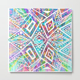 """""""Summer""""   The Colours Of Fun Metal Print"""