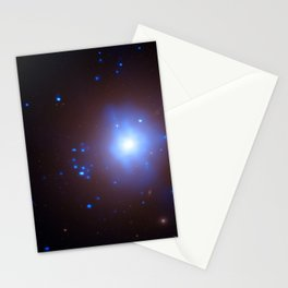 1867. Massive Black Hole Implicated in Stellar Destruction - An elliptical galaxy in the Fornax cluster that contains an ultraluminous X-ray source Stationery Cards