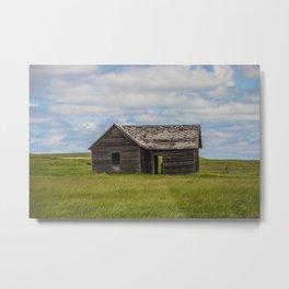 Abandoned Farm, Burleigh County, North Dakota 4 Metal Print