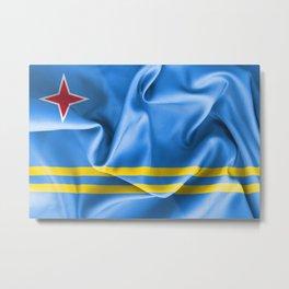 Aruba Flag Metal Print