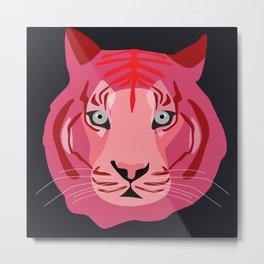 pink tiger Metal Print