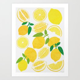Lemon Harvest Kunstdrucke