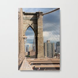 new york city ... brooklyn bridge VI Metal Print