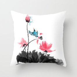 Shh... Throw Pillow