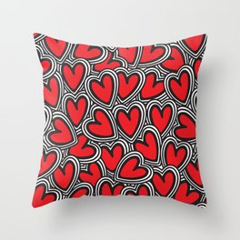 Love, love, love Throw Pillow