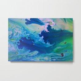 The Mindy / Ink+ Water Metal Print