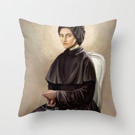 Saint Elizabeth Ann Seton  Throw Pillow