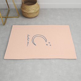 Hold On - Moon + Stars Rug