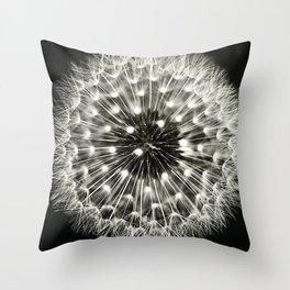 Dandilion Burst Throw Pillow