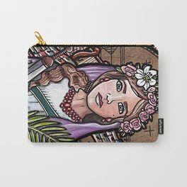 Cecilia of Rome Carry-All Pouch
