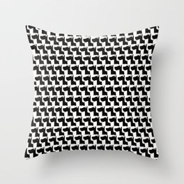 Scottish Dogs Throw Pillow