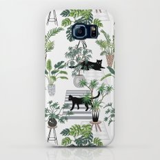 cats in the interior pattern Galaxy S8 Slim Case