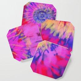 Purple Flare Coaster