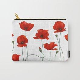 Poppy Stems Carry-All Pouch