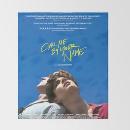 Call Me by Your Name - 2017 Throw Blanket