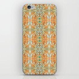 Humming Bird Orange iPhone Skin