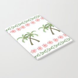 Crossed Palm Trees  Notebook