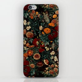 EXOTIC GARDEN - NIGHT XXI iPhone Skin