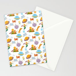 The little boy Stationery Cards