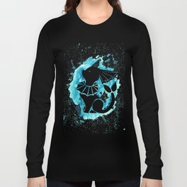 Vaporeon Splash Silhouette Long Sleeve T-shirt