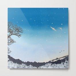 On Their Way Home | Miharu Shirahata Metal Print