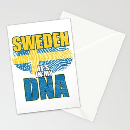 Sweden Viking Country Stationery Cards