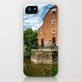 The Abbey Mill At Tewkebury iPhone Case