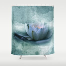 be careful with nature Shower Curtain