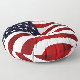 American Flag USA Floor Pillow