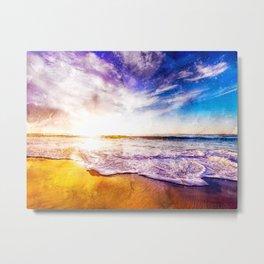California Sunset, USA Metal Print