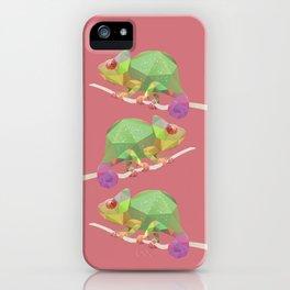 Chameleon. iPhone Case