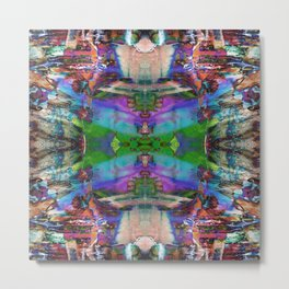 Mandala Kaleidoscope 550 Metal Print