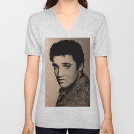 Elvis Unisex V-Neck