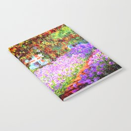 Monets Garden in Giverny Notebook