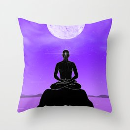 Third Eye chakra. Throw Pillow