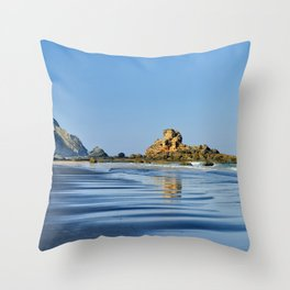 Portugal's West Coast Throw Pillow