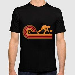 Retro Style Curler Vintage Curling T-shirt