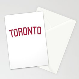 Toronto Sports College Font Stationery Cards