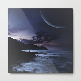 Distant Planets Metal Print