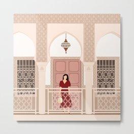 A Moorish Morning  Metal Print